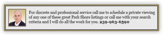 park shore homes for sale