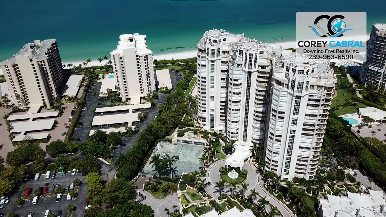 Brittany High Rise Condo Real Estate for Sale in Naples, Florida