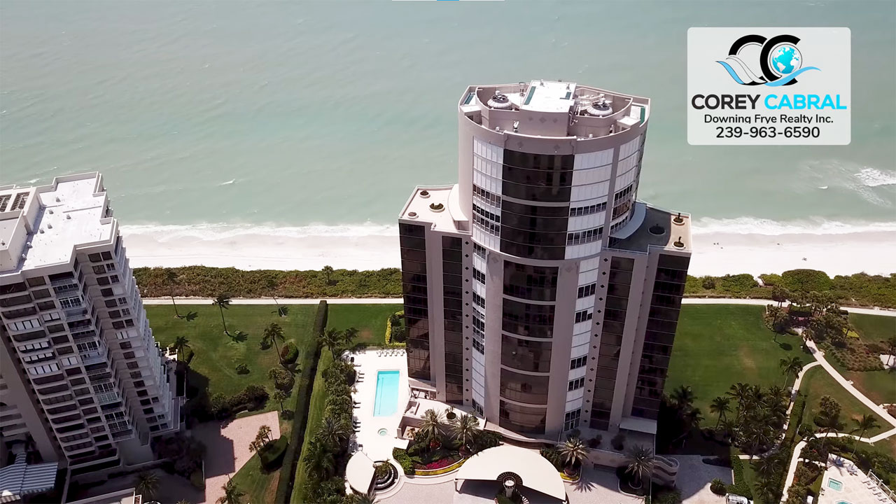 Le Rivage High Rise Condo Real Estate for Sale in Naples, Florida
