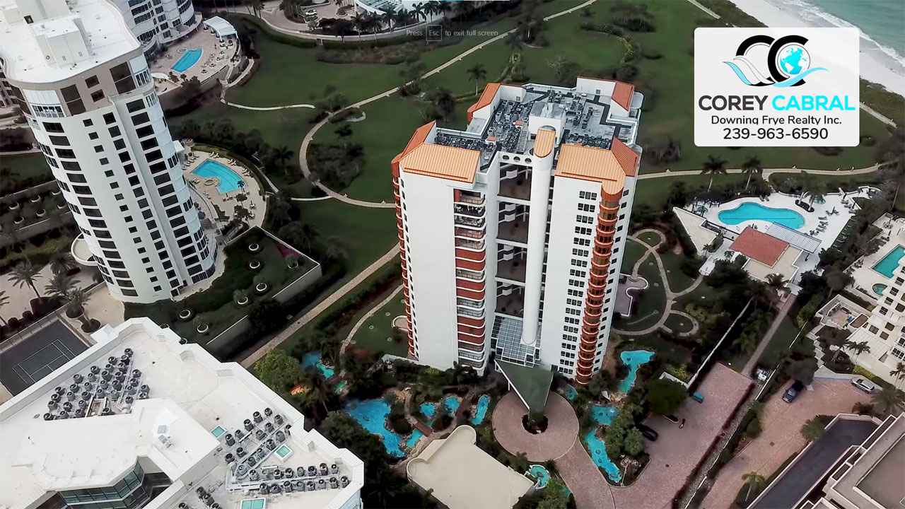 Park Shore Tower High Rise Condo Real Estate for Sale in Naples, Florida