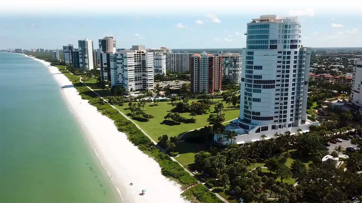 Park Plaza High Rise Condo Real Estate for Sale in Naples, Florida